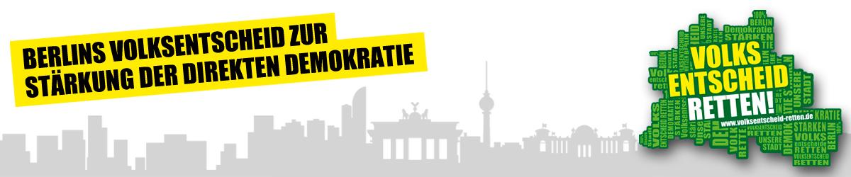 Volksentscheid retten - Berlins Volksentscheid zur Stärkung der direkten Demokratie